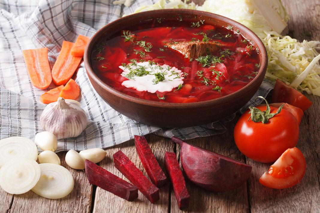 gastronomía rusa