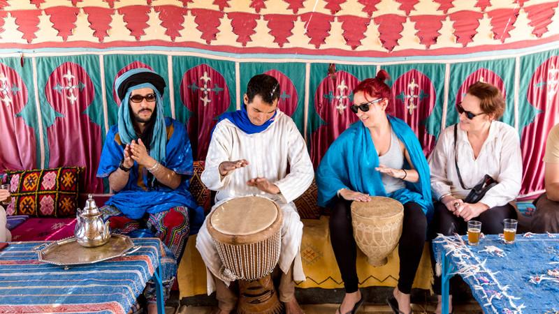 precauciones para viajar a marruecos