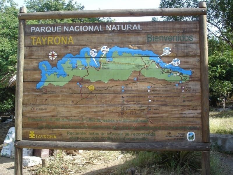 Cuánto vale la entrada al Parque Tayrona